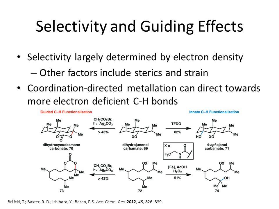 Regioselective C-H Activation Curto, J. M.; Kozlowski, M. C. J. Am. Chem. Soc. 2014, ASAP.