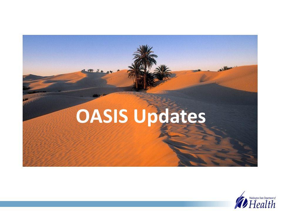 OASIS Updates