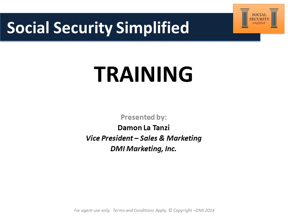 Brought to You By: Introduction to Terminology Most Common Abbreviations Used in Social Security Planning For agent use only.