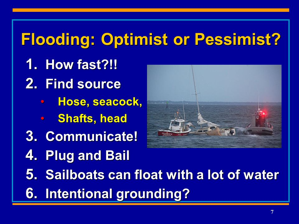 Flooding: Optimist or Pessimist. 1. How fast !. 2.