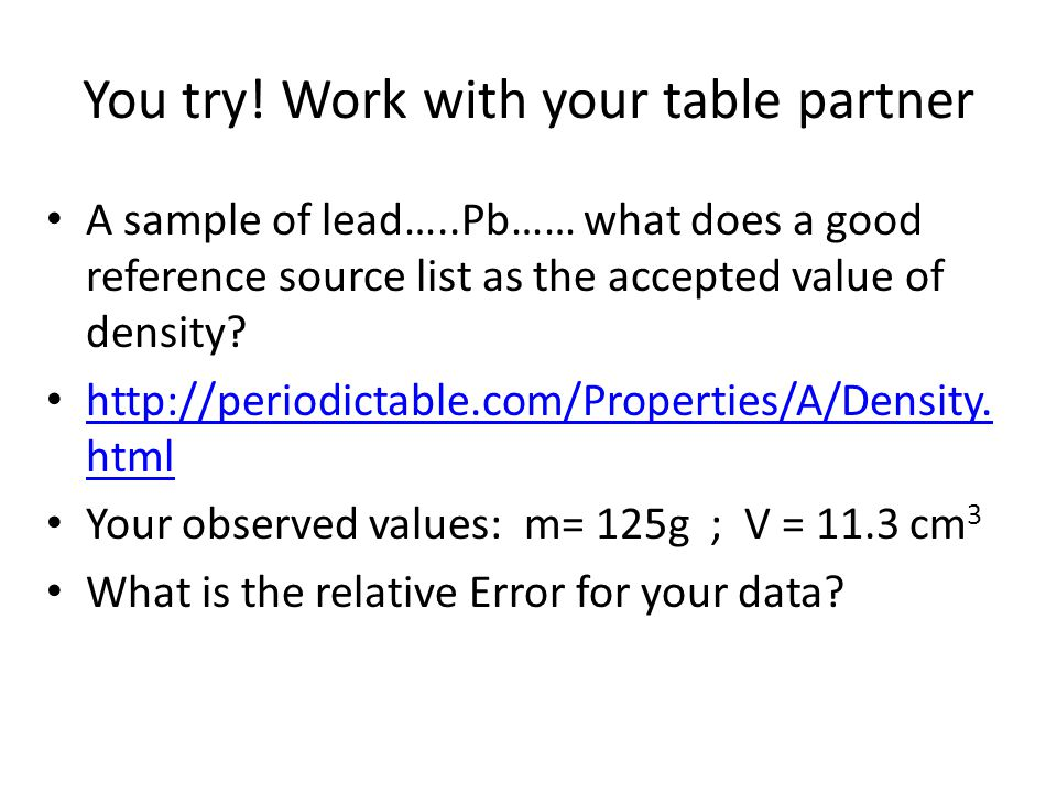 Answer Mean = 2.89 m/s Dr = 9.00% If you were not successful, see me in aclab at 10:15 asap.