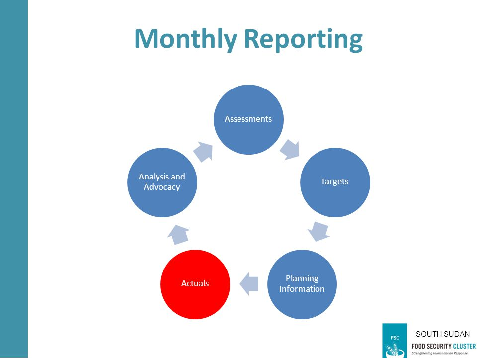 AssessmentsTargets Planning Information Actuals Analysis and Advocacy Monthly Reporting