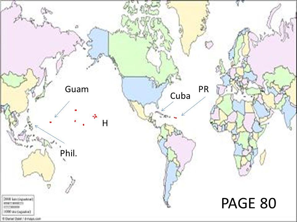 PAGE 80 Phil. Guam PR Cuba H