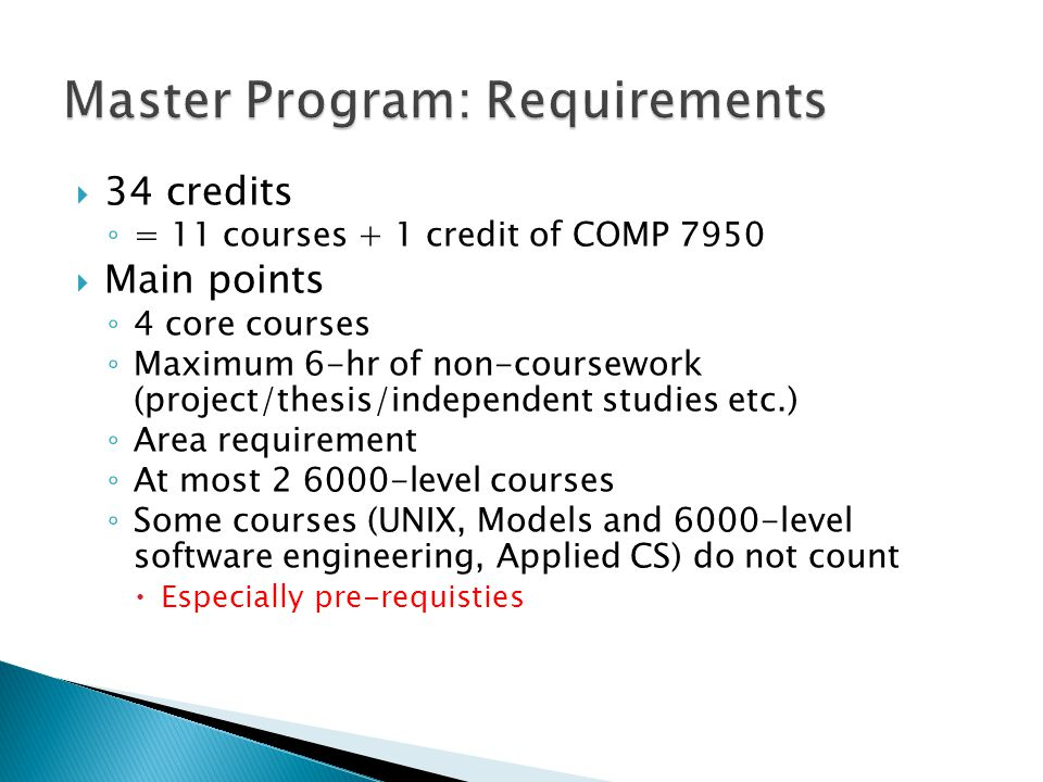 COMP 7012Software Eng.COMP 7212Operating Sys.