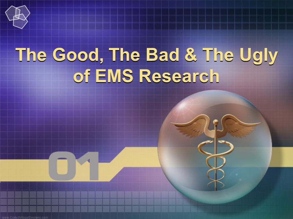 The Good, The Bad & The Ugly of EMS Research