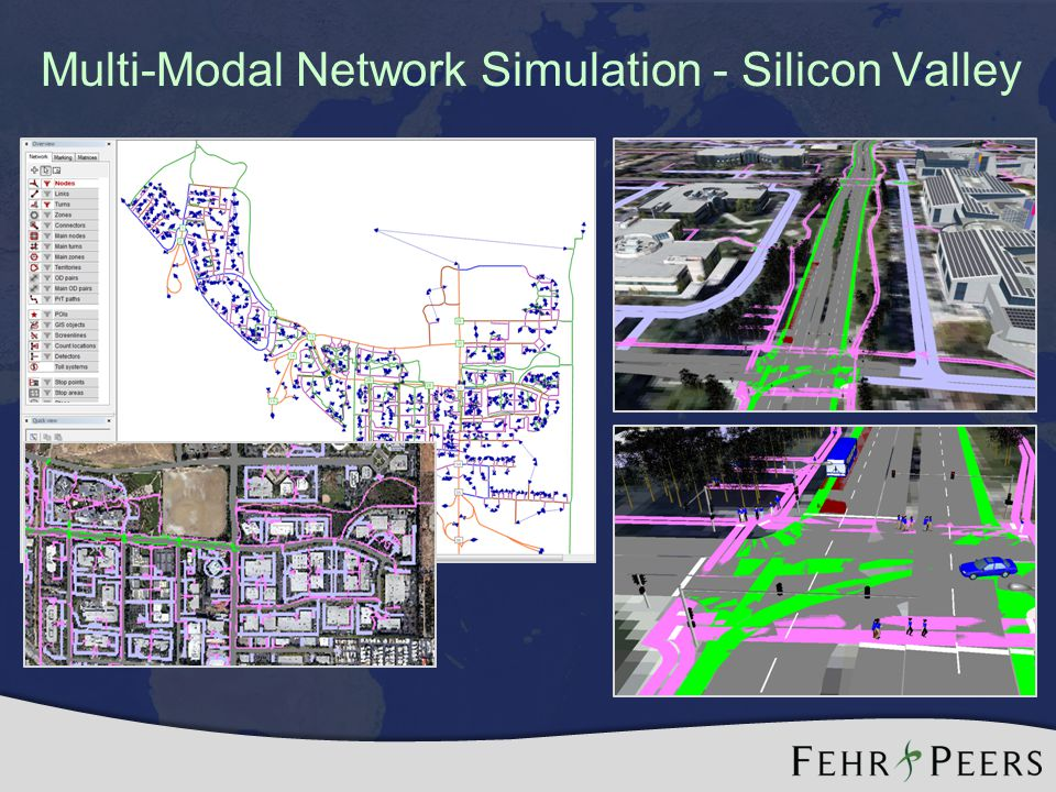 Multi-Modal Network Simulation - Silicon Valley