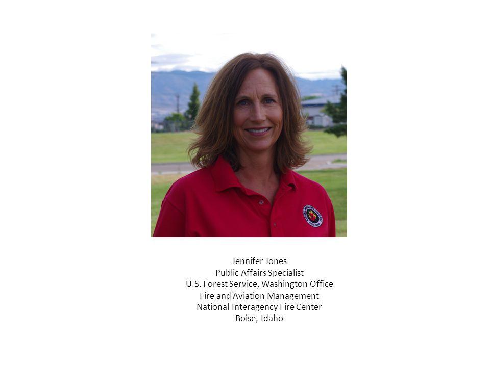Jennifer Jones Public Affairs Specialist U.S.