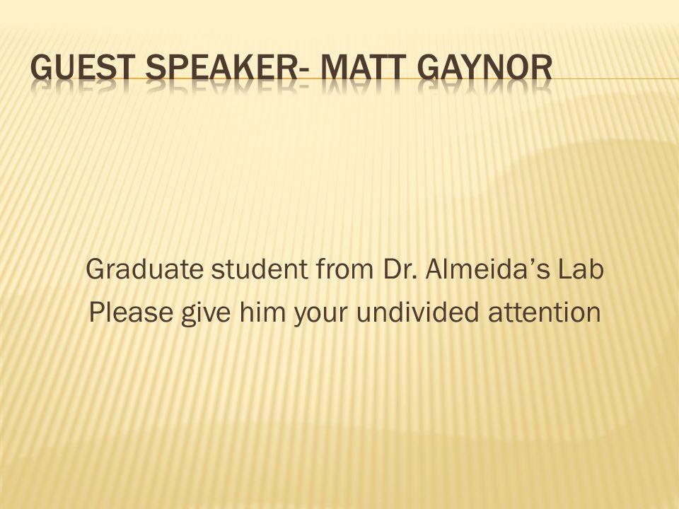 Matthew R Gaynor, B.S.
