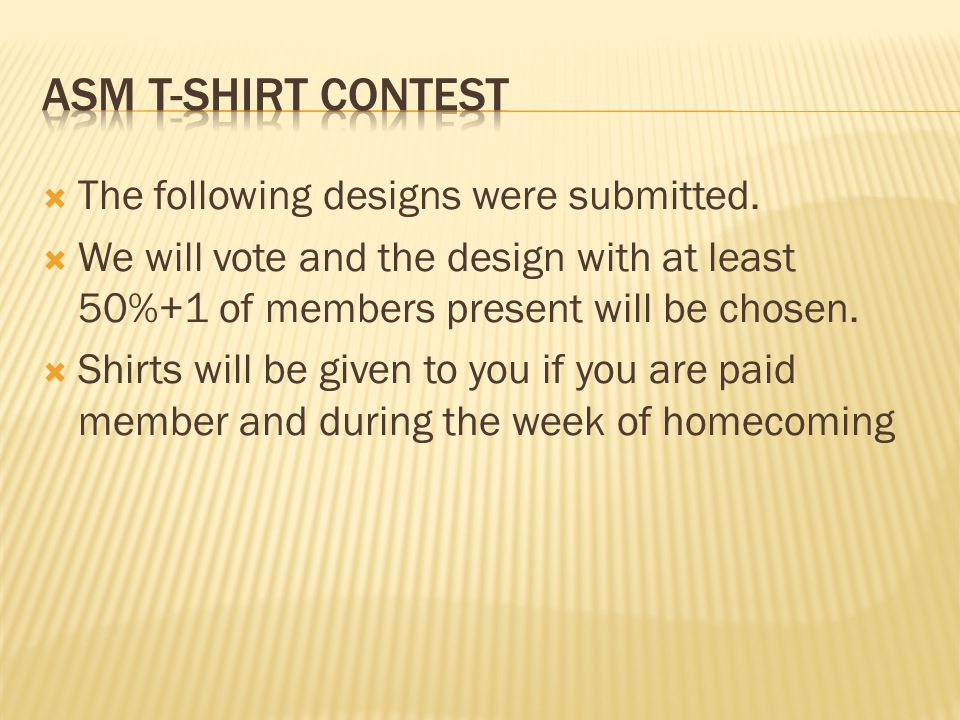  The following designs were submitted.
