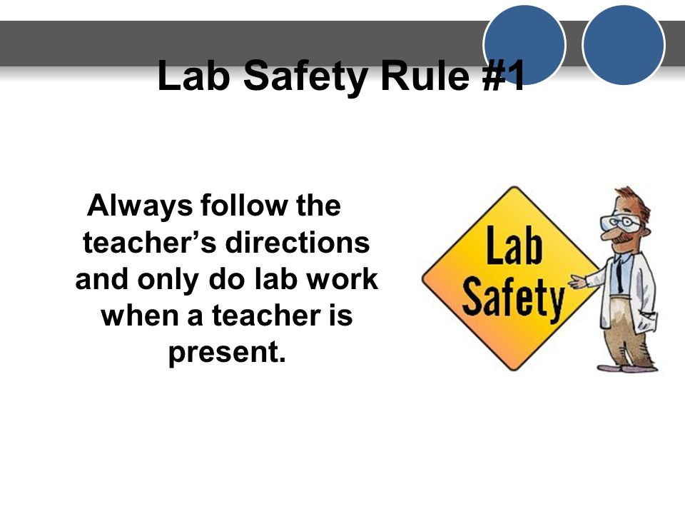 Why is Lab Safety Important.