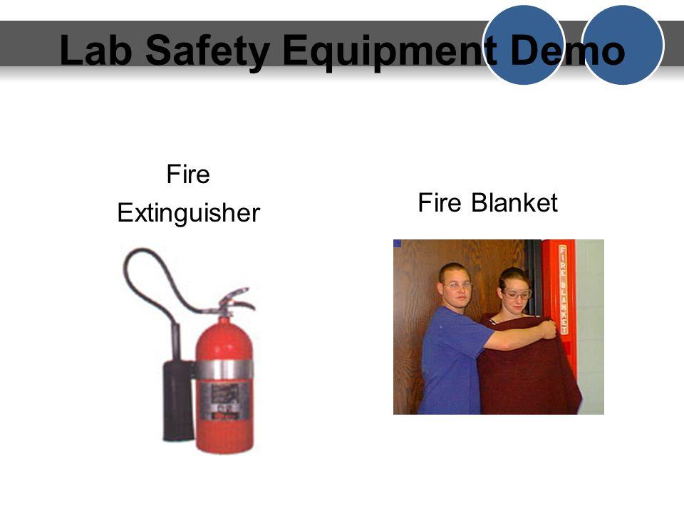 Lab Safety Equipment Demo Safety ShowerSafety GogglesEye Wash