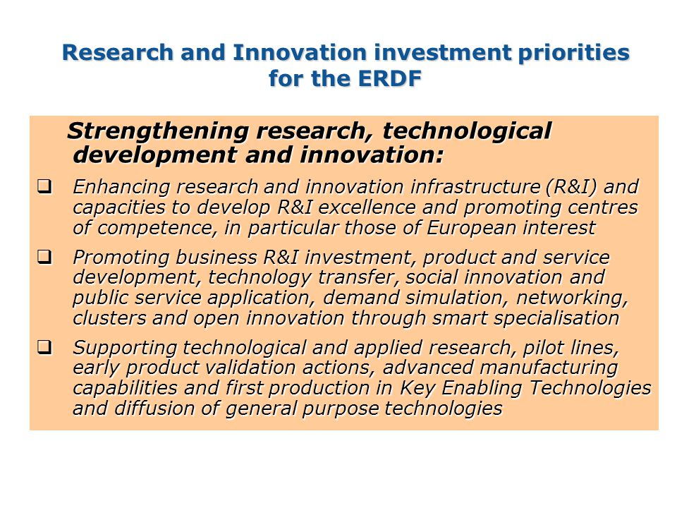 Policy Research and Innovation Research and Innovation What could be the role of NCPs ? 15