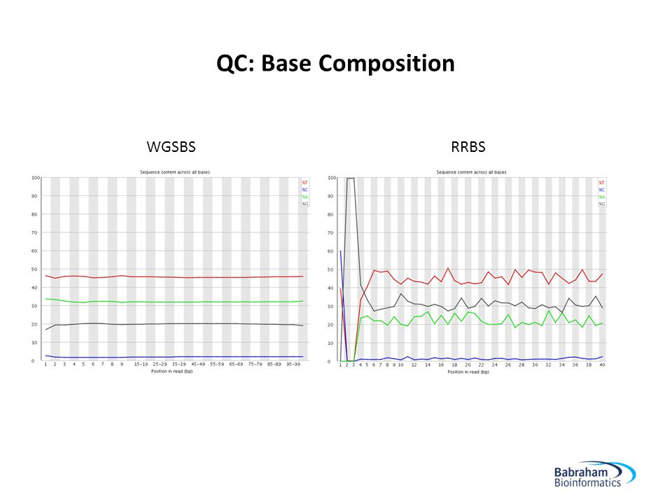 QC: Base Composition 20 RRBSWGSBS