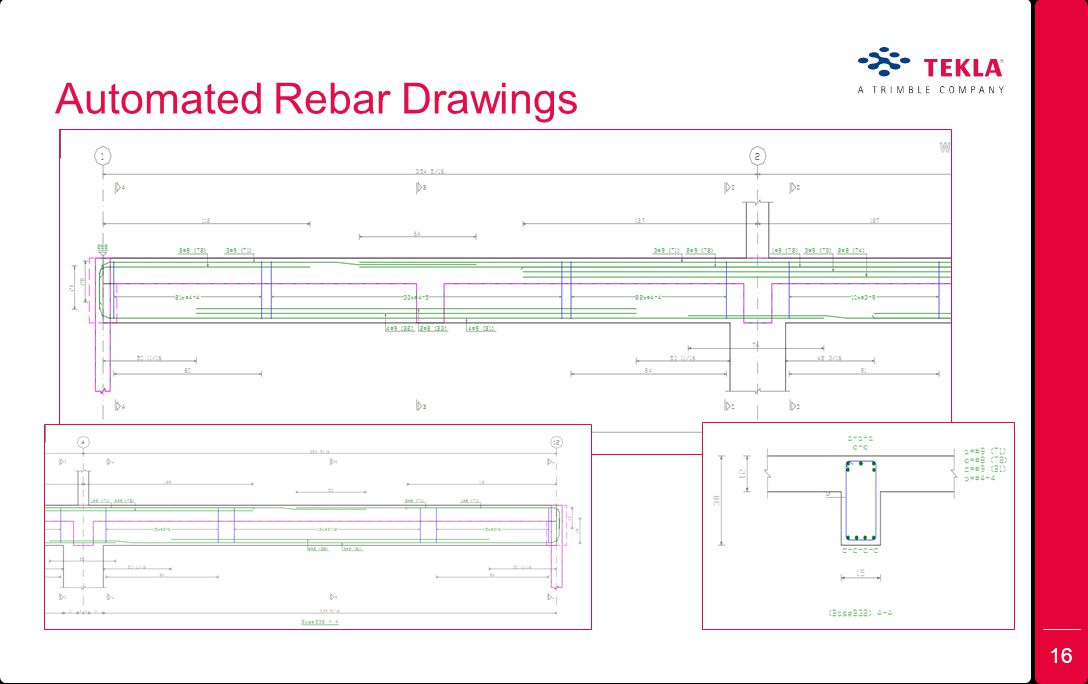 Automated Rebar Drawings 16