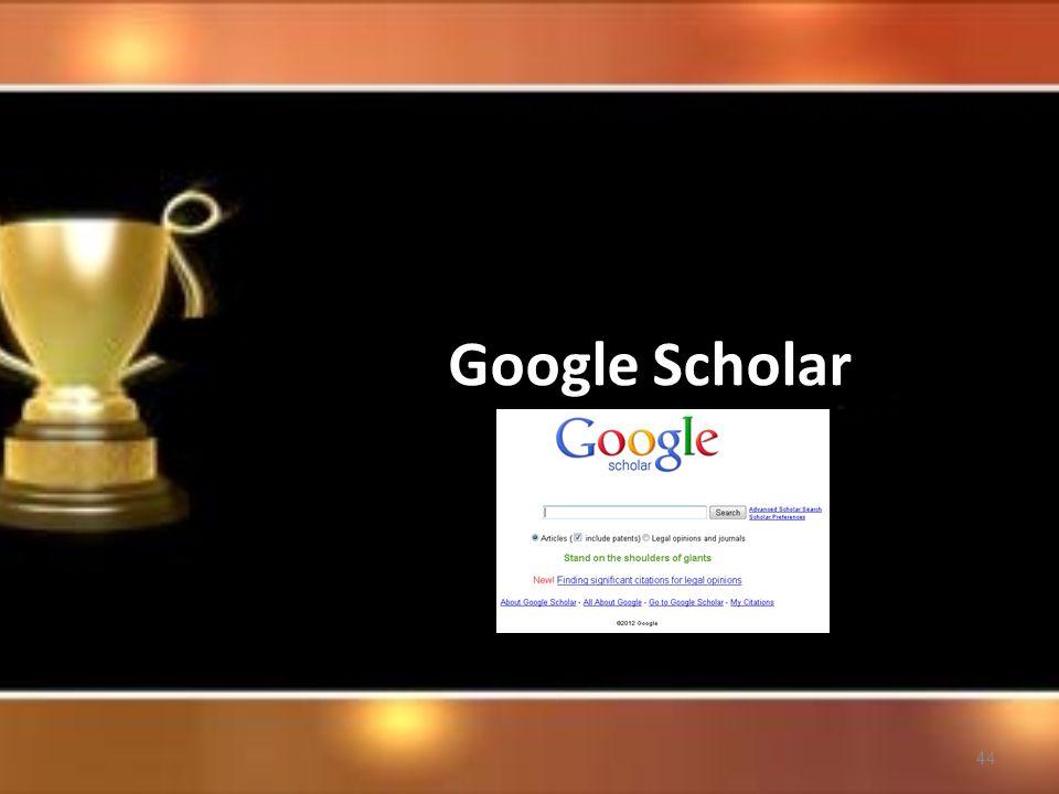 44 Google Scholar