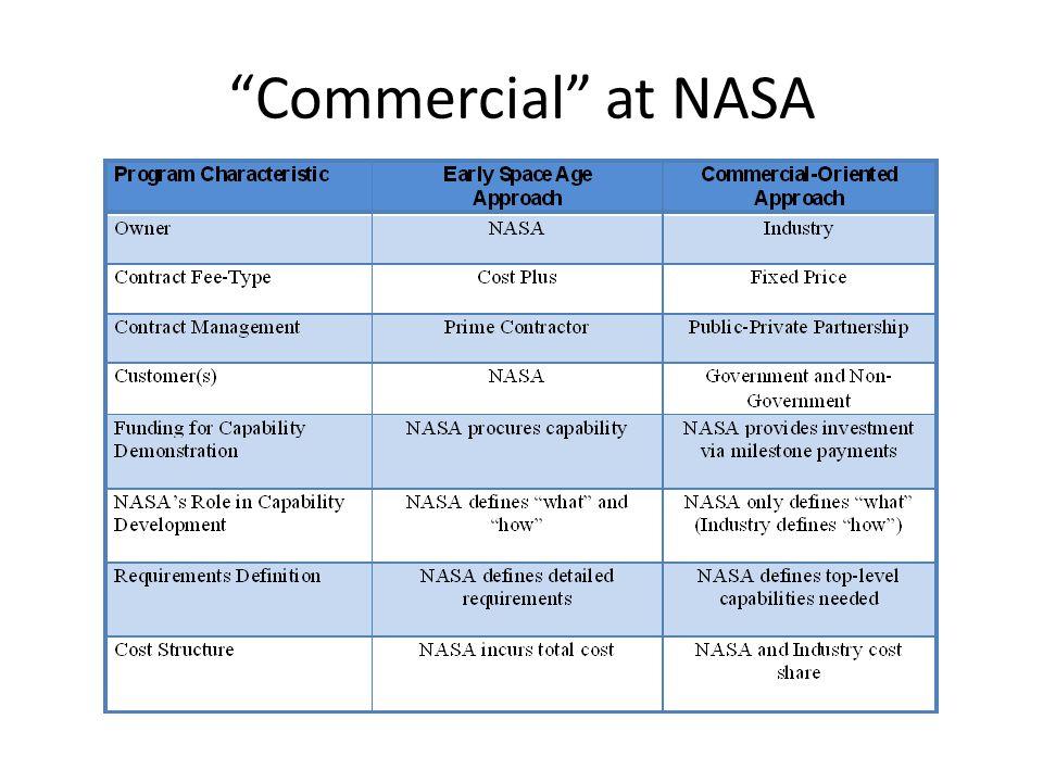 Commercial at NASA 3