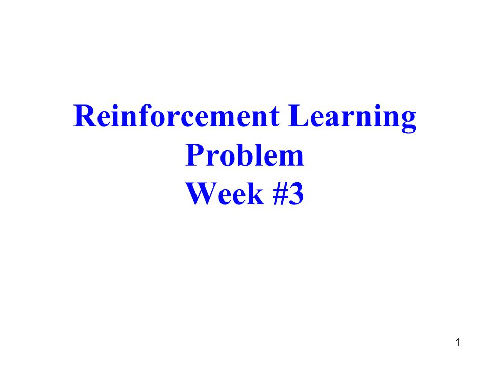 Figure reproduced from the figure on page 52 in reference [1] 2 Reinforcement Learning Loop state Agent Environment response action