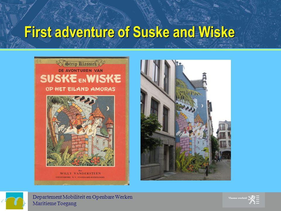 Departement Mobiliteit en Openbare Werken Maritieme Toegang First adventure of Suske and Wiske
