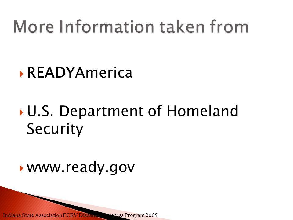  READYAmerica  U.S.