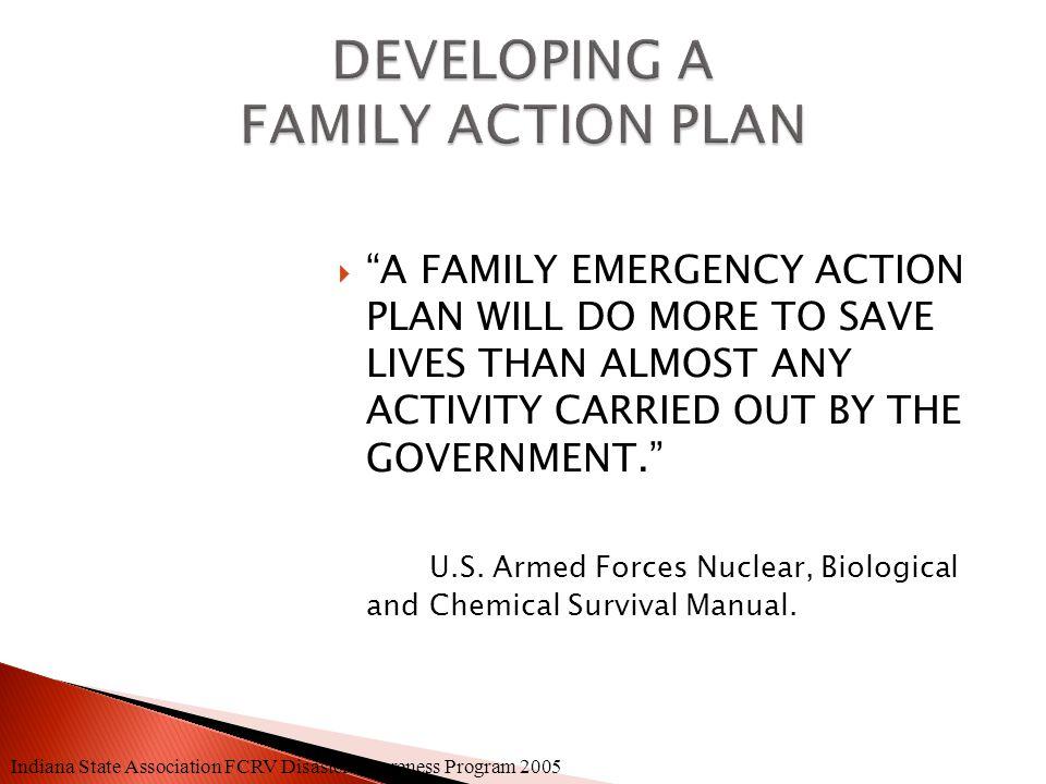 State Association FCRV Disaster Awareness Program 2005