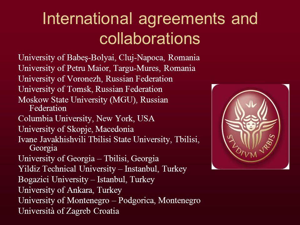 Foreign professors of the board of the PhD in History of Europe CHALVIDAN PIERRE – UNIVERSITE PARIS XII GARCIA MARTIN PEDRO – UNIVERSIDAD AUTONOMA DE MADRID IVAN ADRIAN – BABES-BOLYAI UNIVERSITY OF CLUJ NICOARA TOADER – BABES-BOLYAI UNIVERSITY OF CLUJ SULE KUT – BILGI UNIVERSITY OF ISTANBUL SIGMIREAN CORNEL – UNIVERSITY OF PETRU MAIOR TREADWAY JOHN – University Of Richmond (USA)