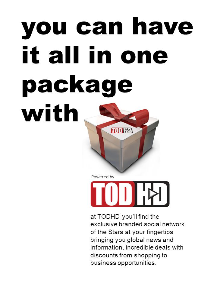 what is TODHD.TODHD offers Social Networking, with more bells and whistles then all the others.
