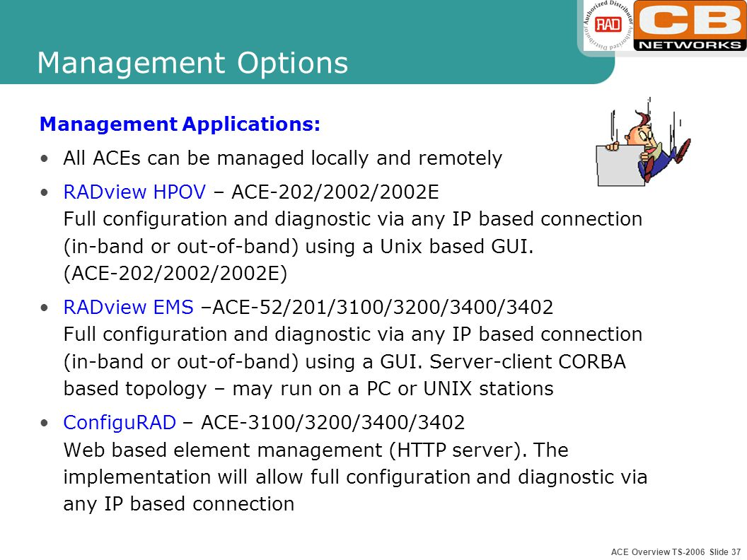 ACE Overview TS-2006 Slide 36
