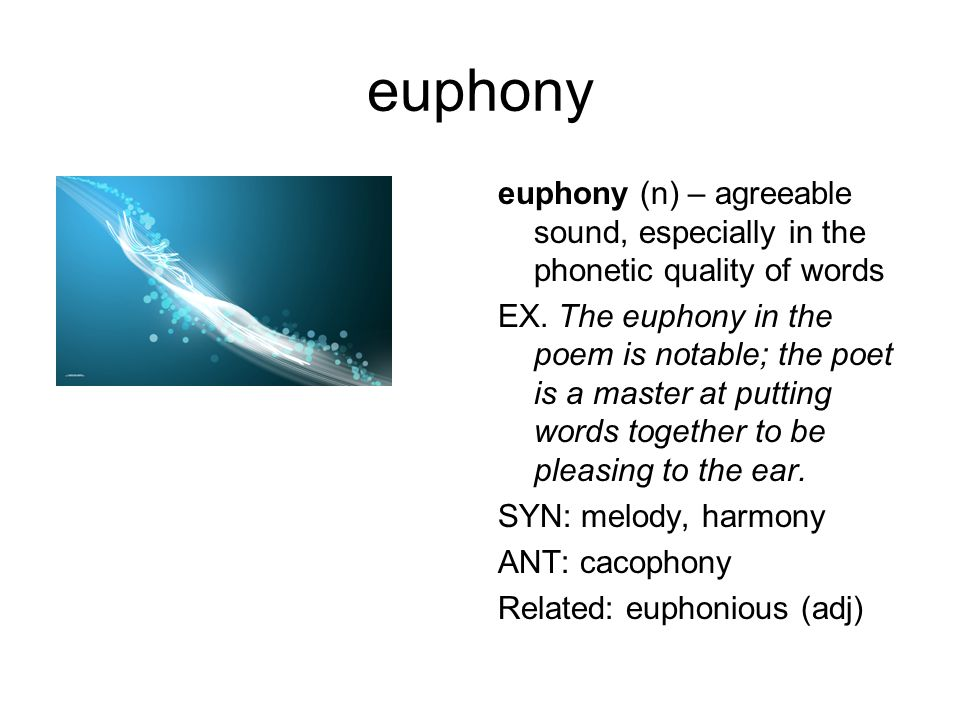 cacophony cacophony (n) – a harsh, discordant (disagreeable) mixture of sounds EX.
