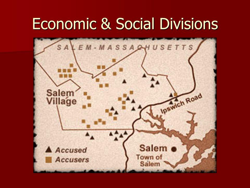 Economic & Social Divisions