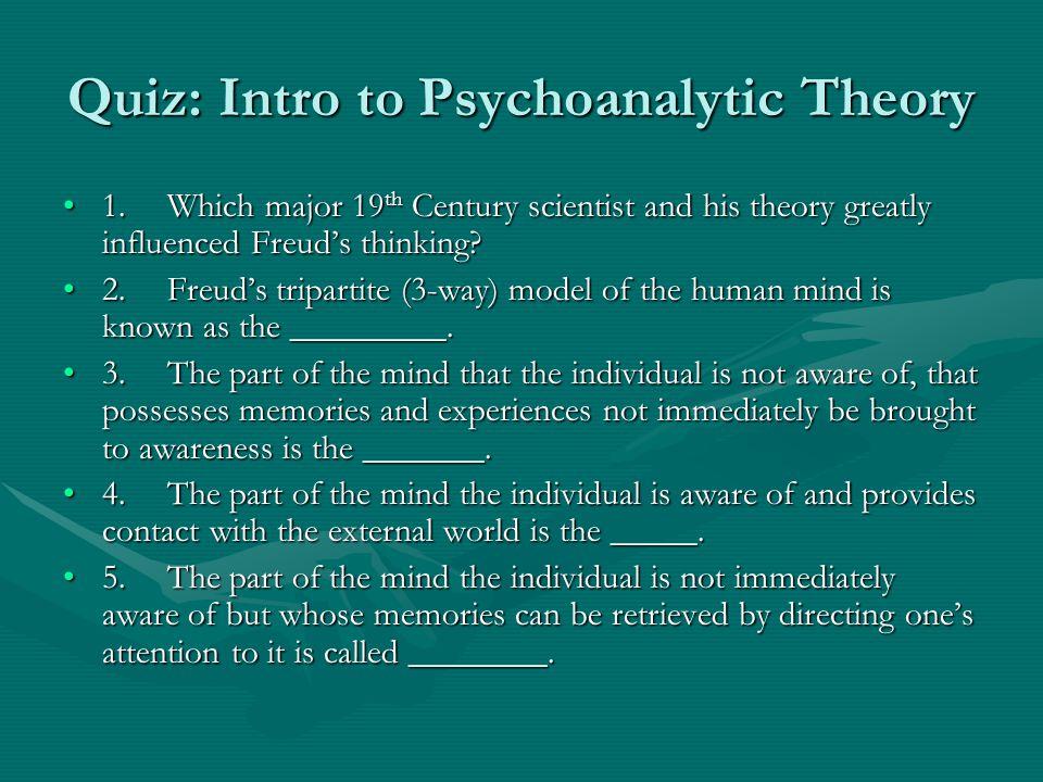 Sigmund Freud: 1856-1939 Father of Modern Psychoanalytic thoughtFather of Modern Psychoanalytic thought Primary Concern?Primary Concern.