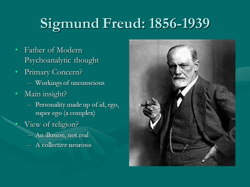 Key Questions Why is Freud considered one of the greatest thinkers of the 20 th century?Why is Freud considered one of the greatest thinkers of the 20 th century.