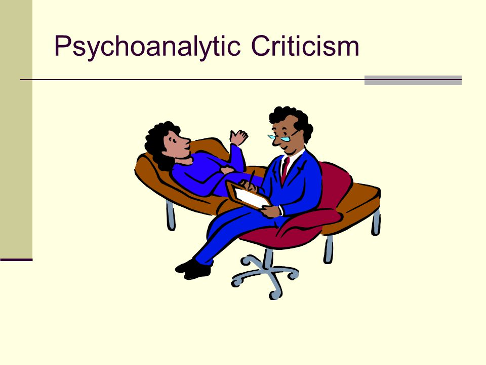 Psychoanalytical criticism seeks to explore literature by examining how the follow issues are represented: How human mental and psychological development occurs How the human mind works The root causes of psychological problems How the id, ego, and superego are represented