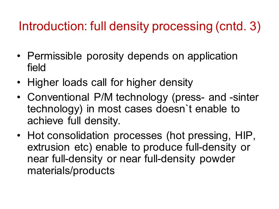 Pressure-assisted combustion synthesis (cntd.