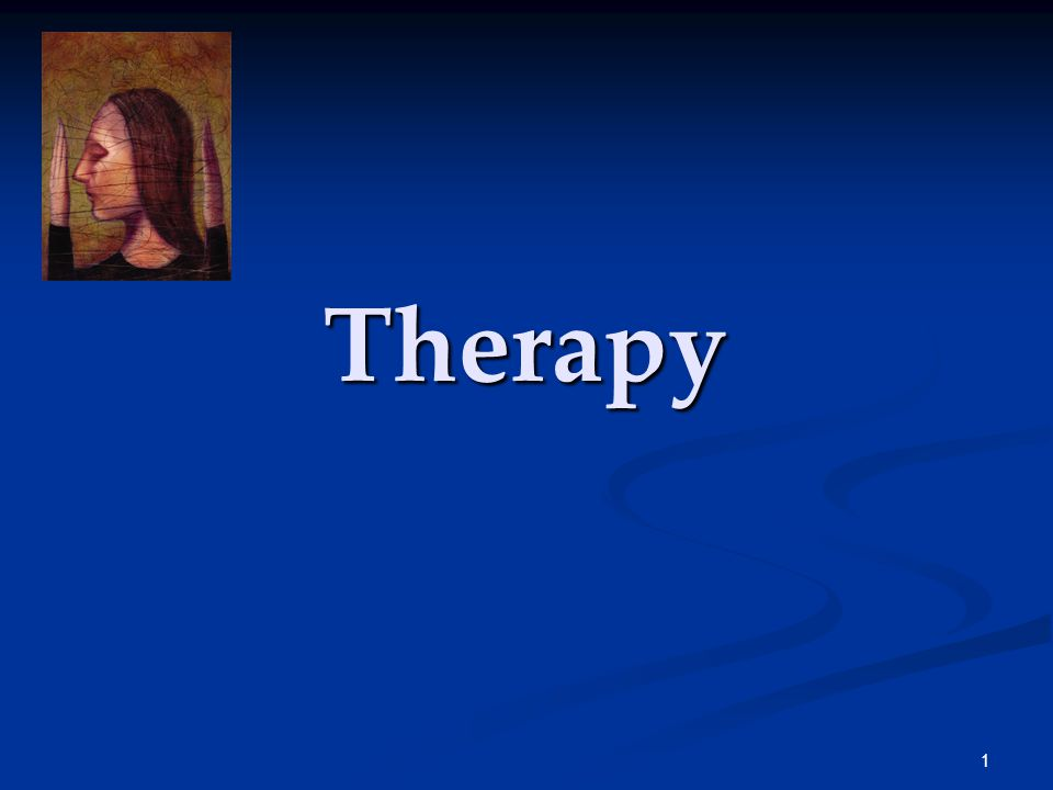 1 Therapy