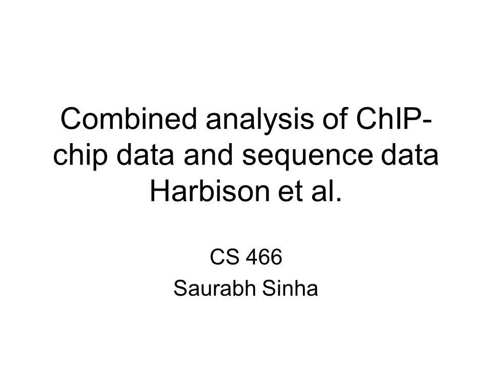 Source: Harbison et al. Nature 431, 99-104(2 September 2004)