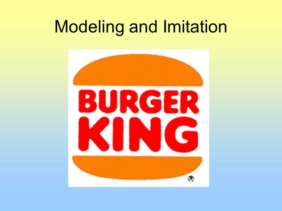 Modeling and Imitation