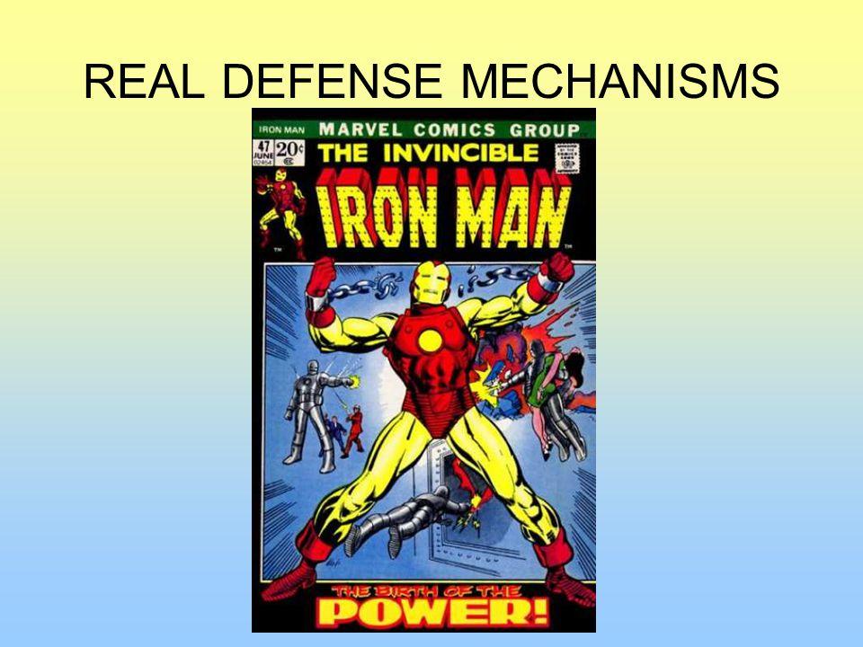 REAL DEFENSE MECHANISMS