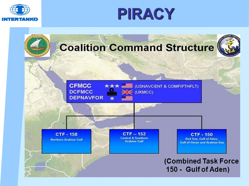 PIRACY (Combined Task Force 150 - Gulf of Aden)
