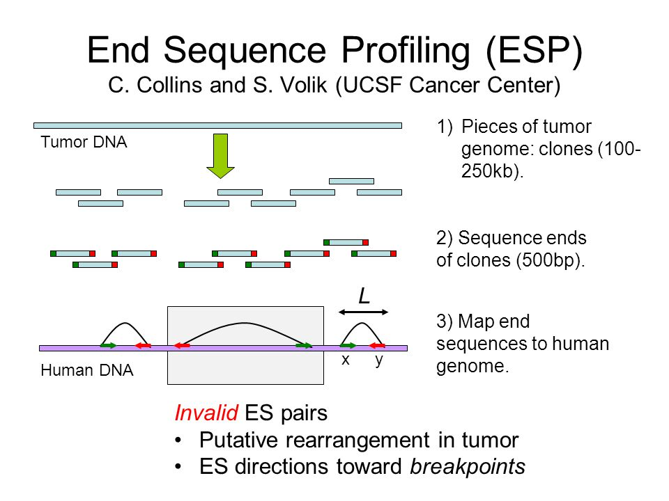 End Sequence Profiling (ESP) C. Collins and S.