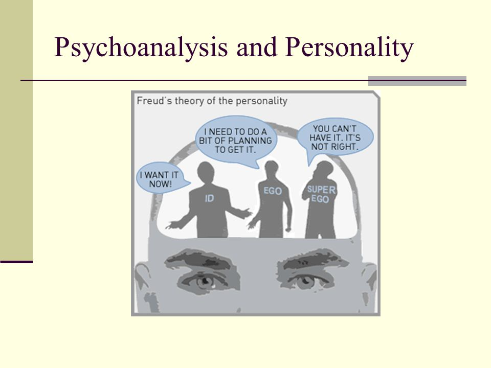 Psychoanalysis and Personality