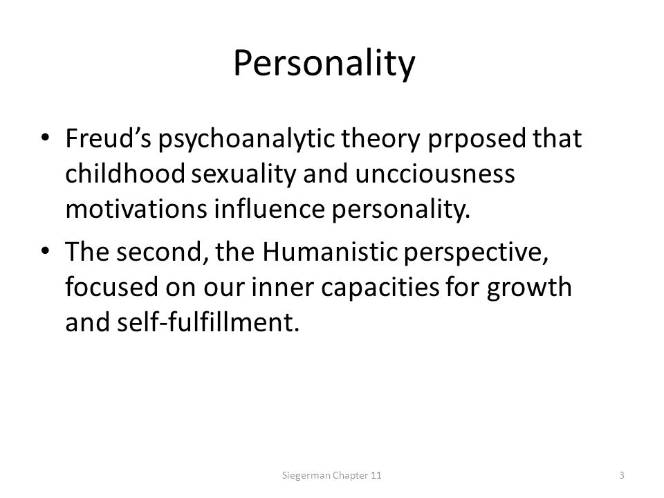 Neo-Freudians Neo Freudians veered away from Freud in two important ways.