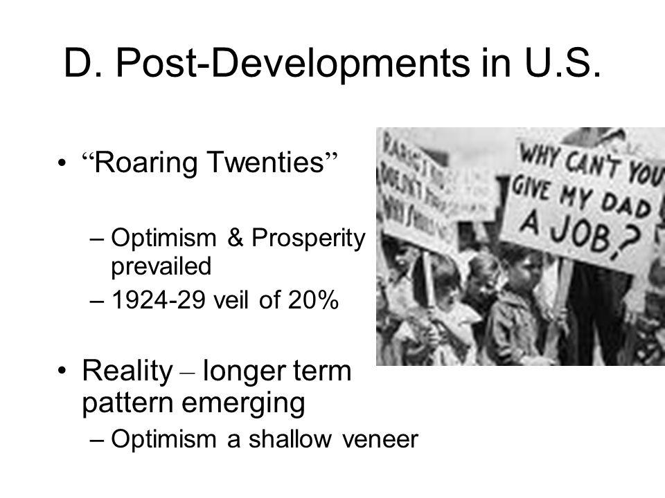 D. Post-Developments in U.S.