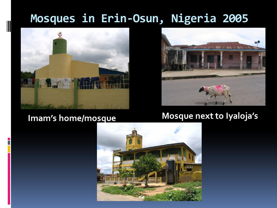 Central Mosque Erin-Osun, Nigeria 2005