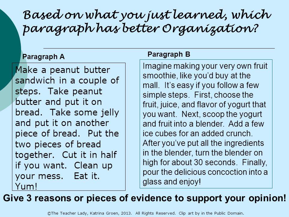 Make a peanut butter sandwich in a couple of steps.