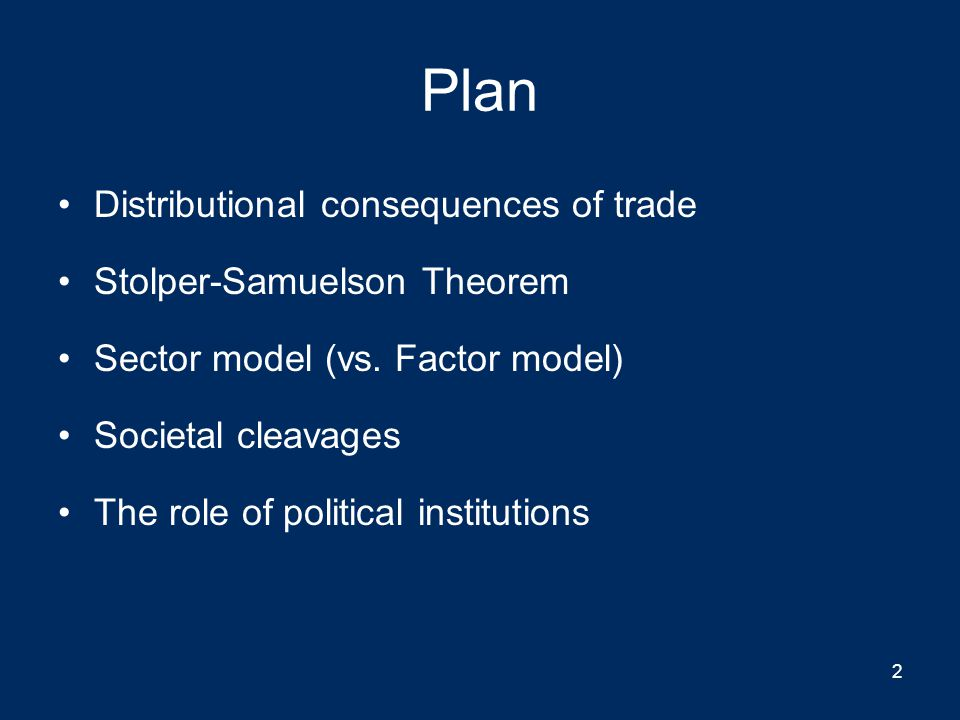 Back to 2 factors (ignoring collective action problem) DemocracyAuthoritarian Capital abundantLabor loses from trade but has political power  protectionism ??.