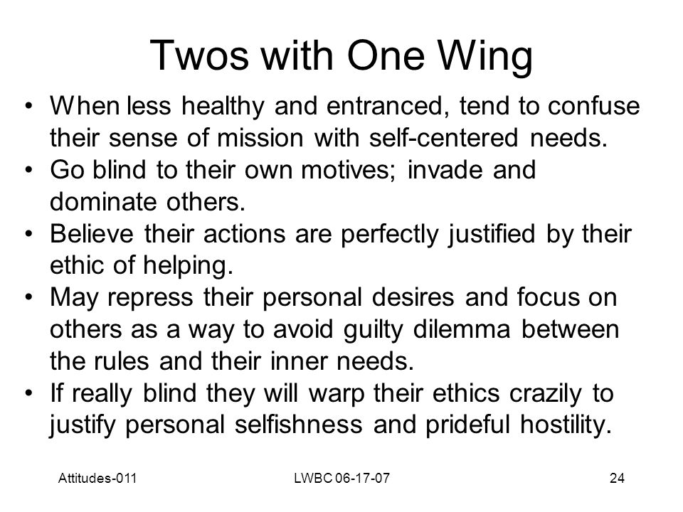 Attitudes-011LWBC 06-17-0725 Twos with Three Wing This wing brings Twos an extra measure of sociability and the capacity to make things happen.