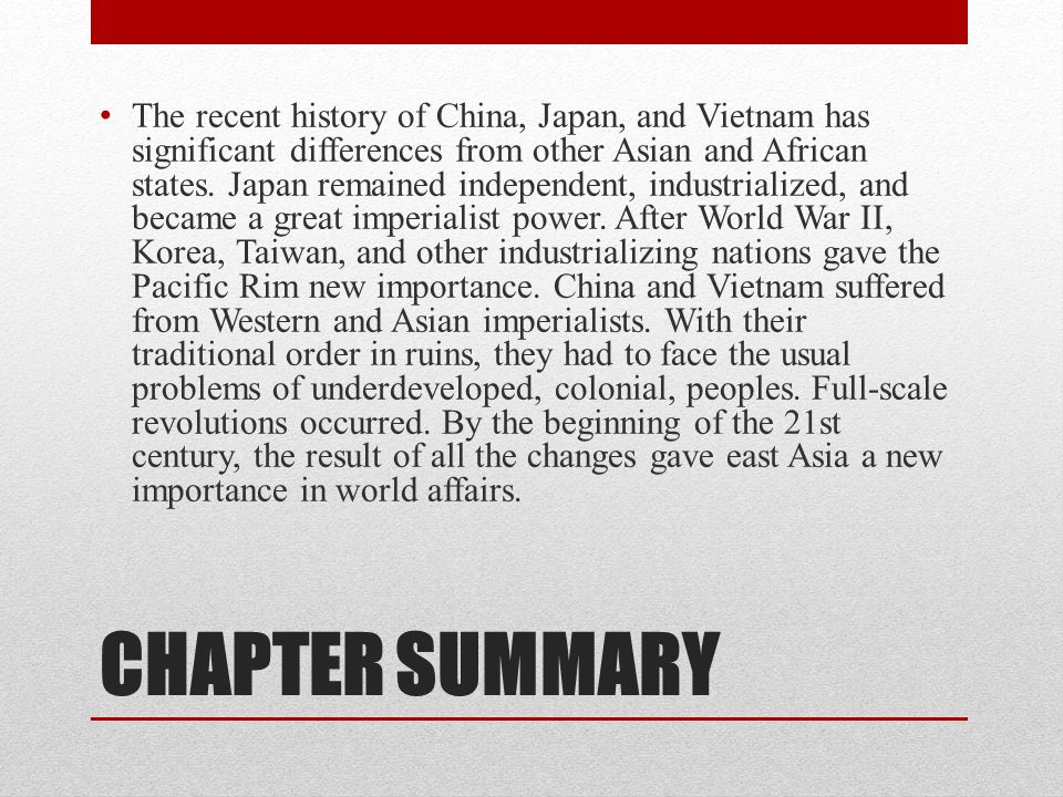 East Asia in the Postwar Settlements Allied victory and decolonization restructured east Asia.