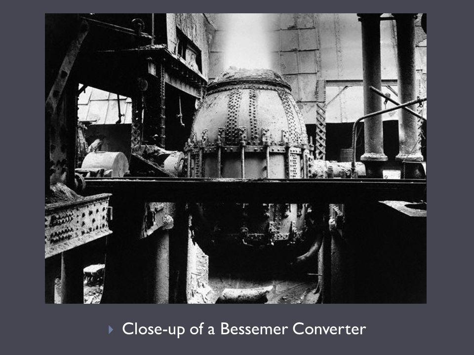  Close-up of a Bessemer Converter