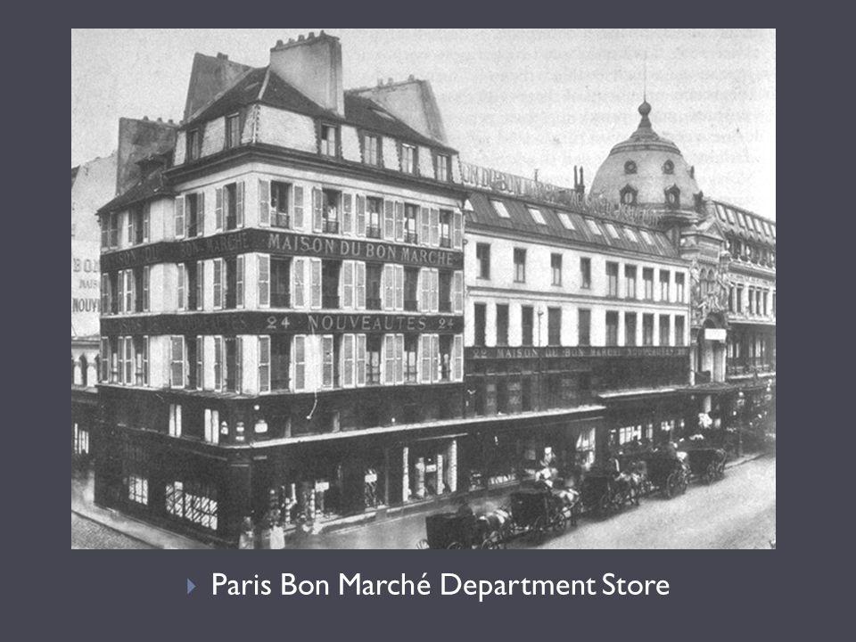  Paris Bon Marché Department Store