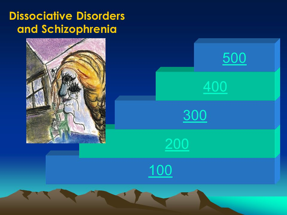 100 200 300 400 500 Eating Disorders and Personality Disorders